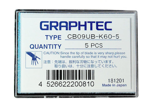 Graphtec super-steel blade 30° 0.9mm diameter for FC, FCX, CE Series (CB09UB-K60) - www.allprintheads.com