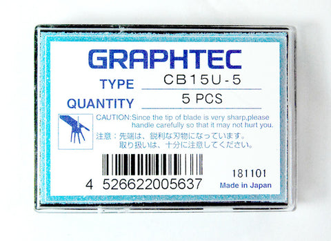Graphtec super-steel blade 45° 1.5mm diameter for FC, FCX, CE Series (CB15U) - www.allprintheads.com