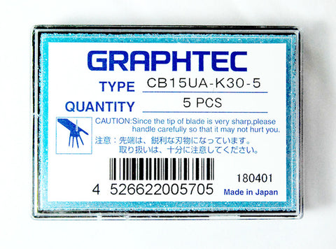 Graphtec super-steel blade 60° 1.5mm diameter for FC, FCX Series (CB15UA-K30) - www.allprintheads.com