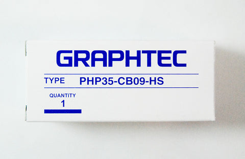 Graphtec brass tip blade holder 0.9mm diameter for CB09UB series blades for FC Series (PHP35-CB09-HS) - www.allprintheads.com
