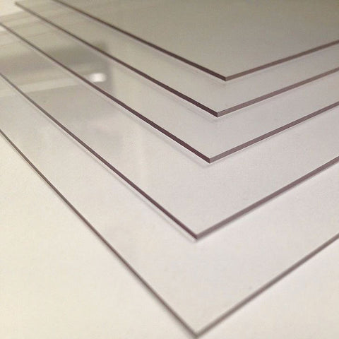 Acriform™ Acrylic Sheet | Clear or White. (Minimum Purchase of 75 Units - Can Mix