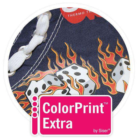 ColorPrint Extra Solvent Printable Heat Transfer Vinyl - CPE - www.allprintheads.com