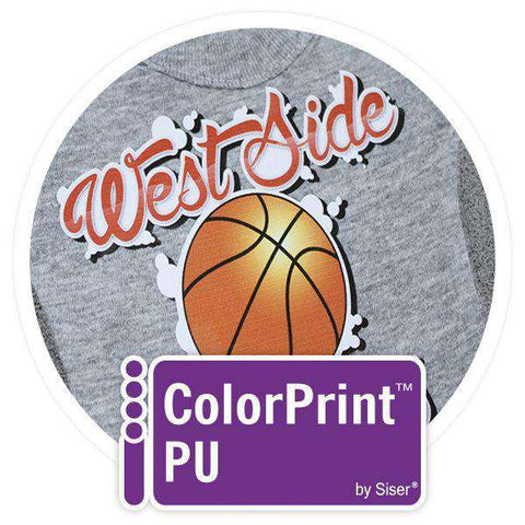 ColorPrint PU Matte Printable Heat Transfer Vinyl  - www.allprintheads.com
