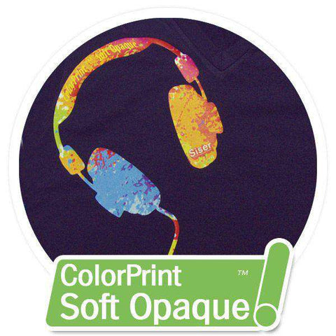 ColorPrint Soft Opaque Printable Heat Transfer Vinyl - www.allprintheads.com