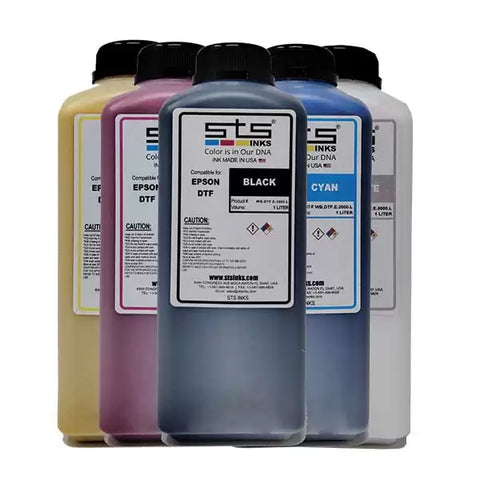 Direct to Transfer Film Ink for Epson printheads. Bottle of 1L - www.allprintheads.com