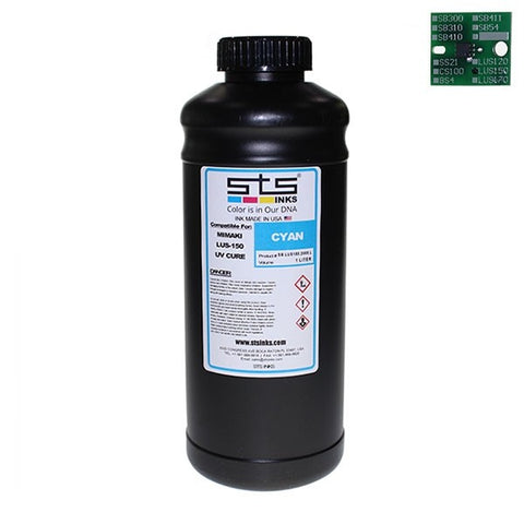 Replacement Ink for Mimaki LUS-150 UV Curable 1 Liter - www.allprintheads.com