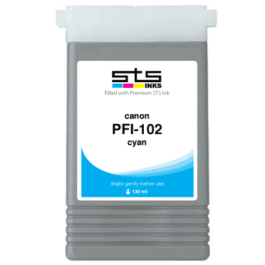 Replacement Cartridge for Canon PFI-102 for imagePROGRAF - www.allprintheads.com