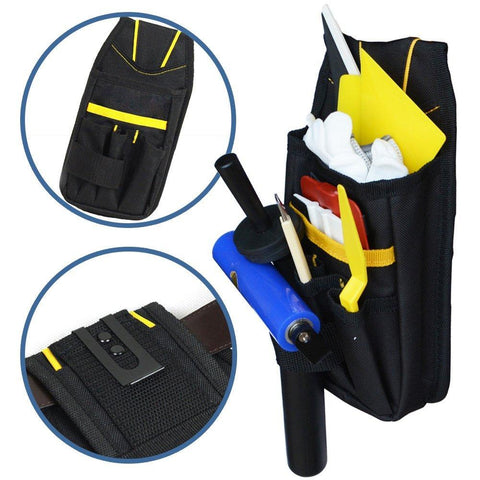 Professional Tool Bag Oxford Cloth Pouch Bag Waist Belt Organizer - www.allprintheads.com