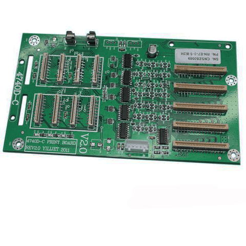 Xenons X2A-6407ADE Eco-solvent Printer 4740D-C (X841) 2 dx7 Printhead Board - www.allprintheads.com