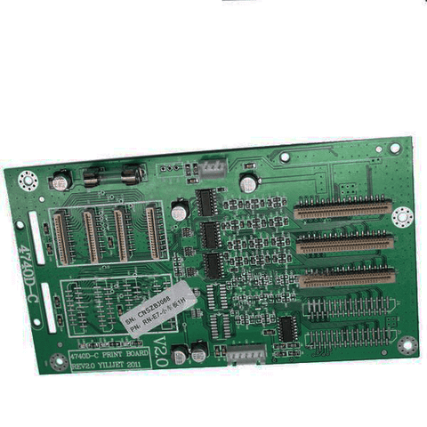 Xenons one piece dx7 Printhead Board 4740D-C (X841) For X2A-7407ASE Eco-solvent Printer - www.allprintheads.com