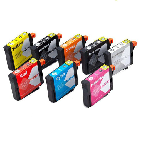 Full Set x NON-OEM SC-P400 ink cartridges T3240-T3249 - www.allprintheads.com