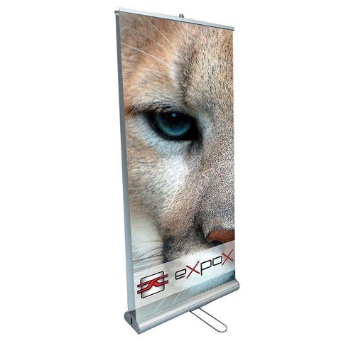 Expox DI-RP7 Retractable Banner Stand | 33″x 78″ | Double Sided - www.allprintheads.com