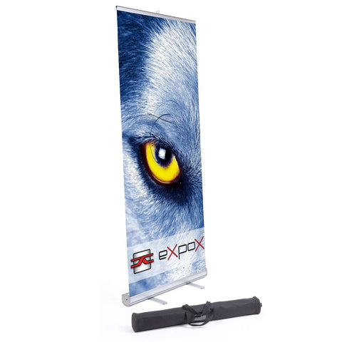 Expox DI-RP8 Retractable Banner Stand | 33″x 78″ | Single Sided
