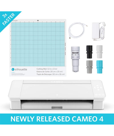 Silhouette Cameo 4 Cutting Machine - www.allprintheads.com