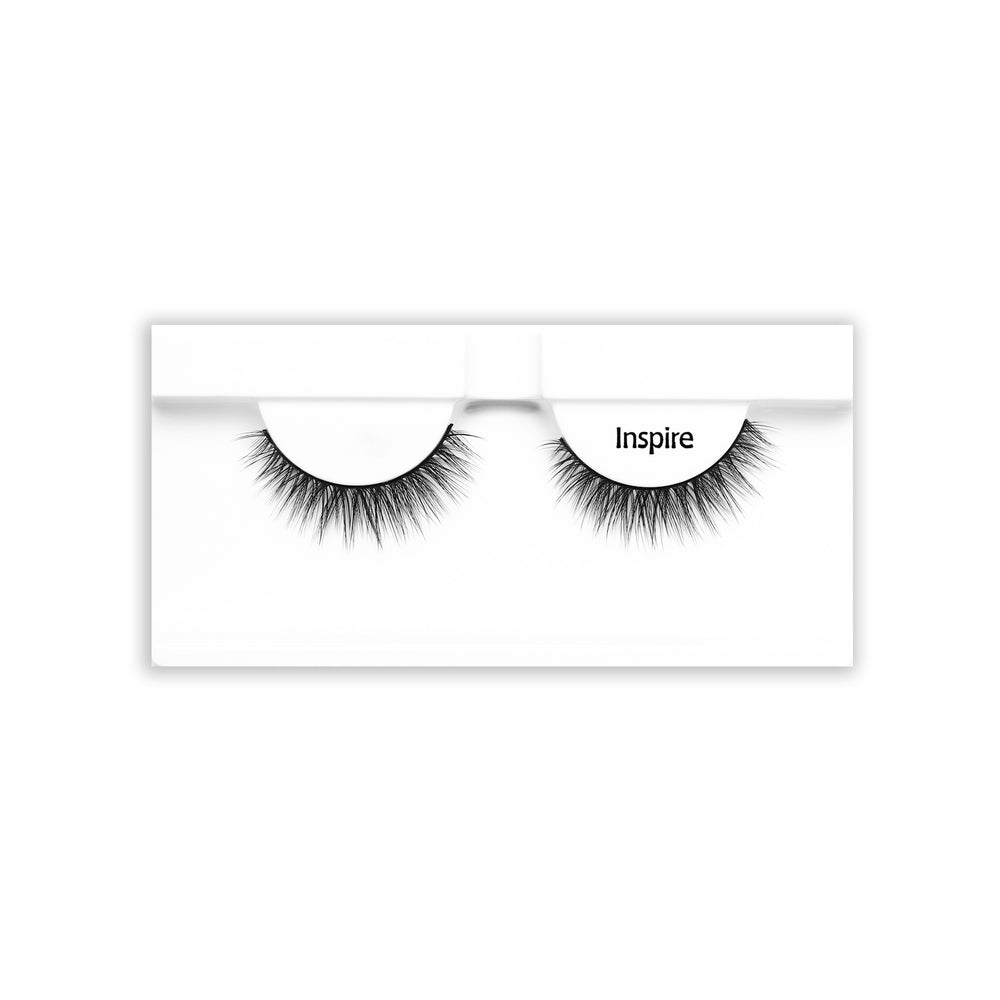 Petite Cosmetics Inspire false lashes tray packaging