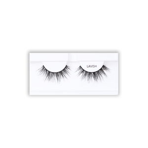 Petite Cosmetics Lavish false lashes tray packaging