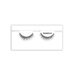 Petite Cosmetics Lovestruck false lashes tray packaging