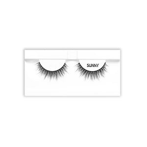 Petite Cosmetics Sunny false lashes tray packaging