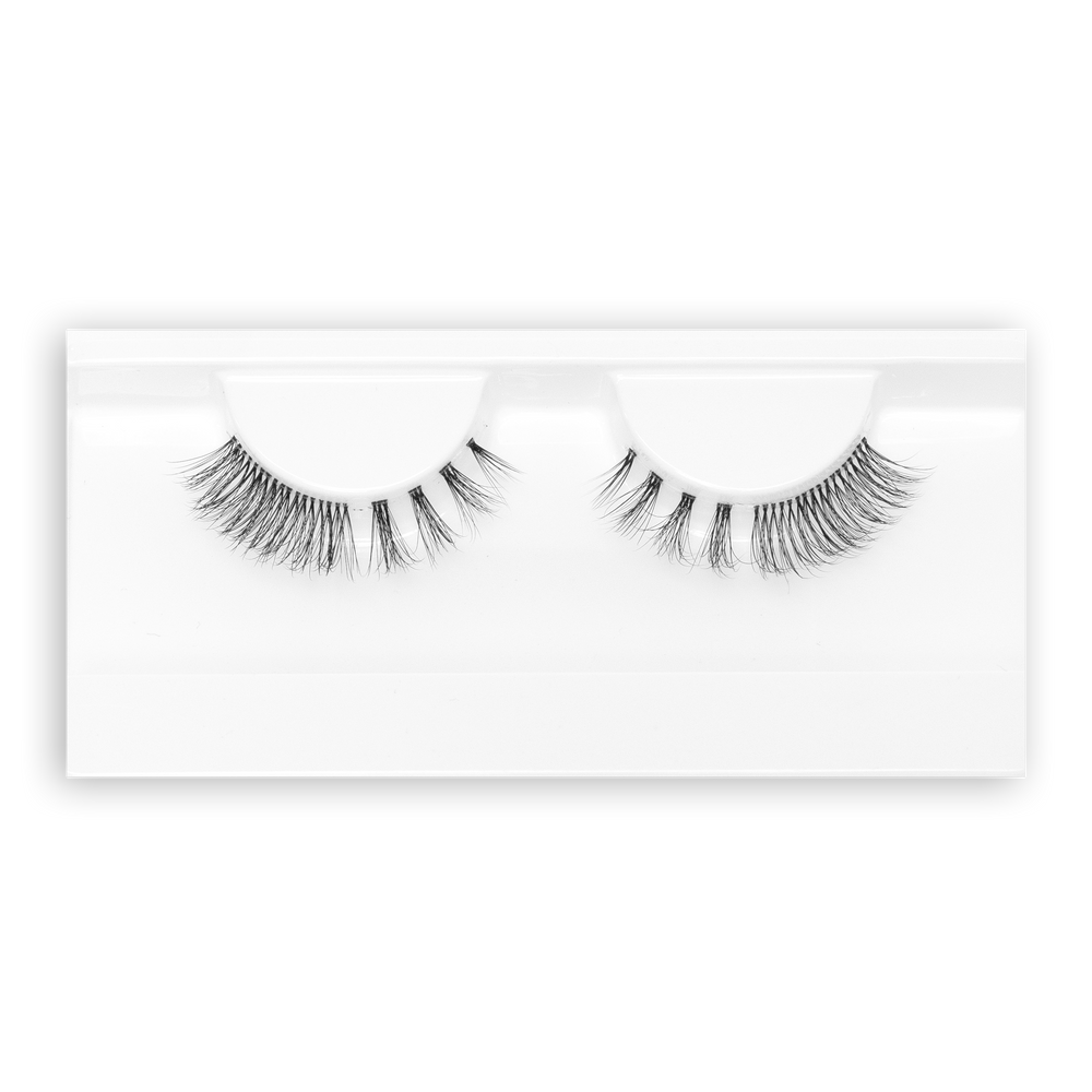 Petite Cosmetics Unstoppable false lashes tray packaging