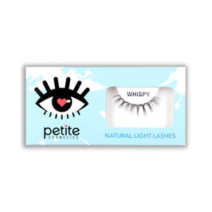 Petite Cosmetics Whispy Lashes from Natural Light Collection - Full Product Shot