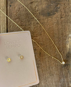 Lover's Tempo Studs & Necklace