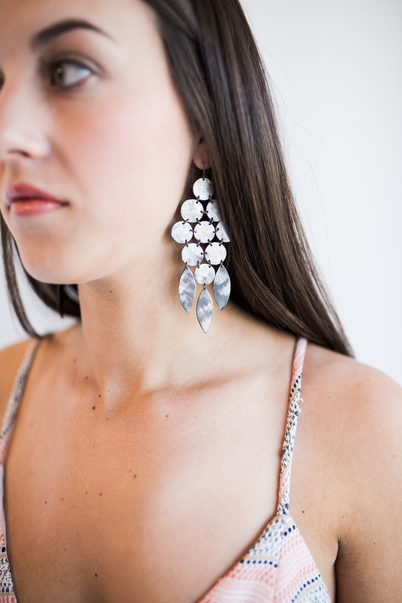 Beatrix Statement Chandelier Earrings