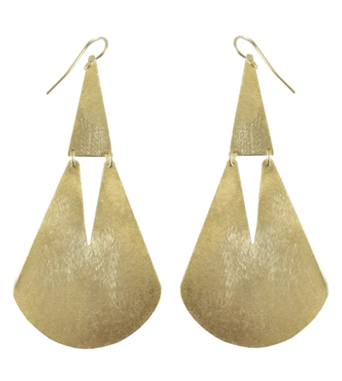 Brae Hinged Drop Earrings