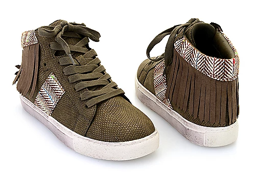 Slinky High Top Sneakers