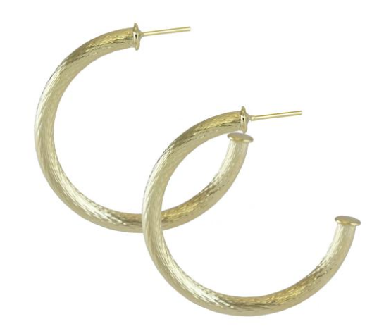 Marcia Moran Illana Rope Hoop Earrings