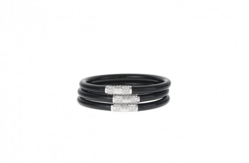 BudHa Girl Black All Weather Bangles