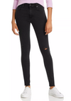 AG Farrah High Rise Black Jeans