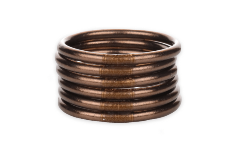 Budha Girl Bangle Bronze