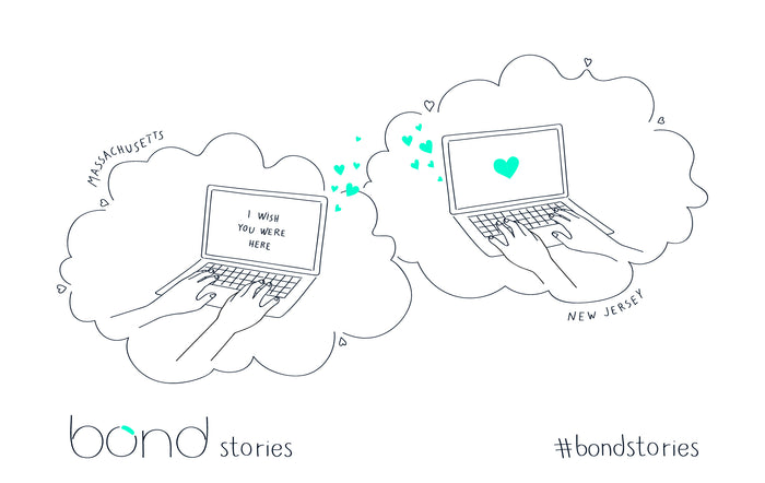 #Bondstories: Pen Friends Turned Couple