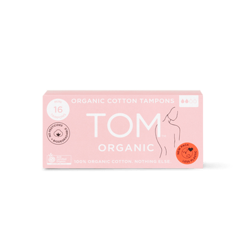 TOM Organic cotton mini tampon 16 pack