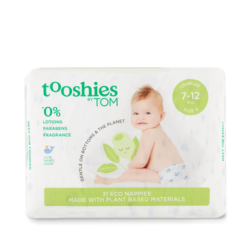 Crawler Nappies 7-12kg: Multi 2 Pack