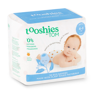 Infant Nappies 4-8kg: Multi 2 Pack
