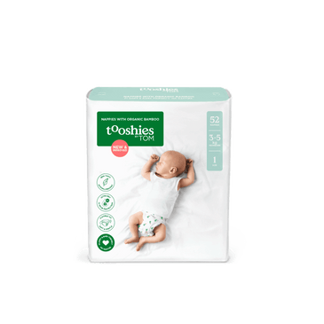 tooshies newborn bamboo nappies bulk pack