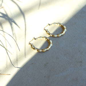 Bamboo Hoops Medium
