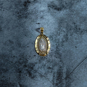 2-Tone Oval Virgin Mary - Dynasty Collect