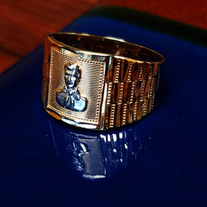 Malverde Rolex-style Ring 14K - Dynasty Collect