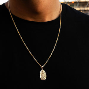 Diamond Cut Rope Chain 2.5mm - Dynasty Collect