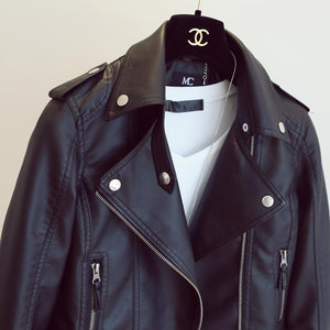 Rock and Roll Women's Leather Jacket - We Insignia