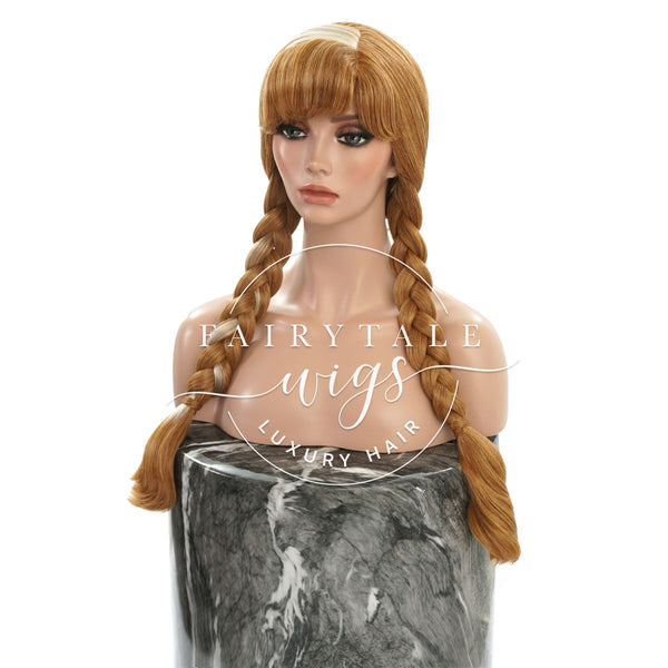 Custom Styled Anna Wig by Fairytale Wigs