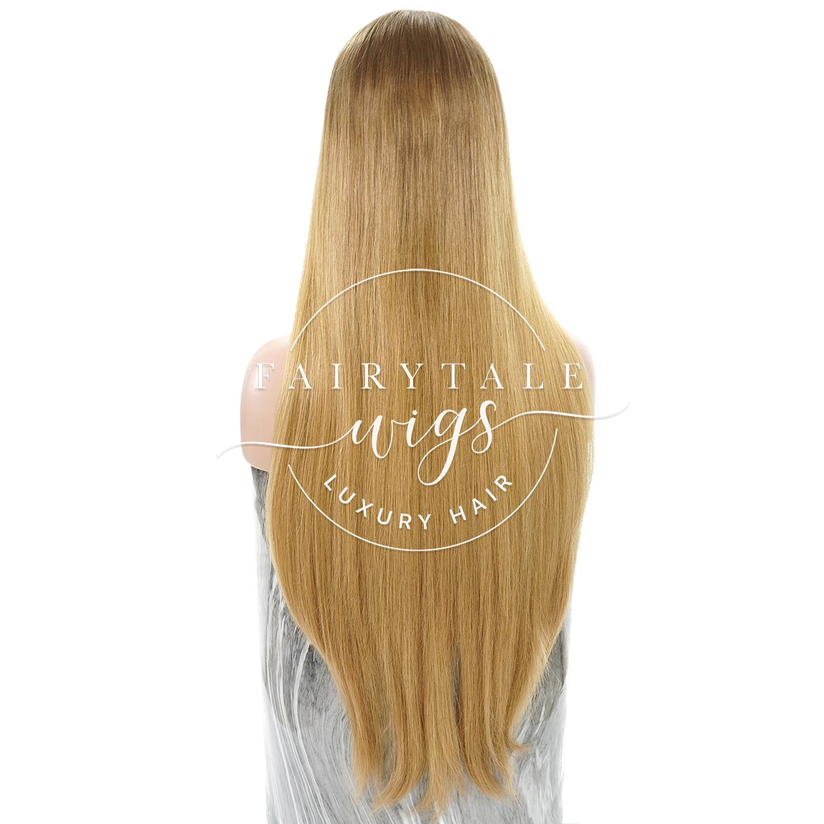 Golden Ash Ombre - 24 Inches