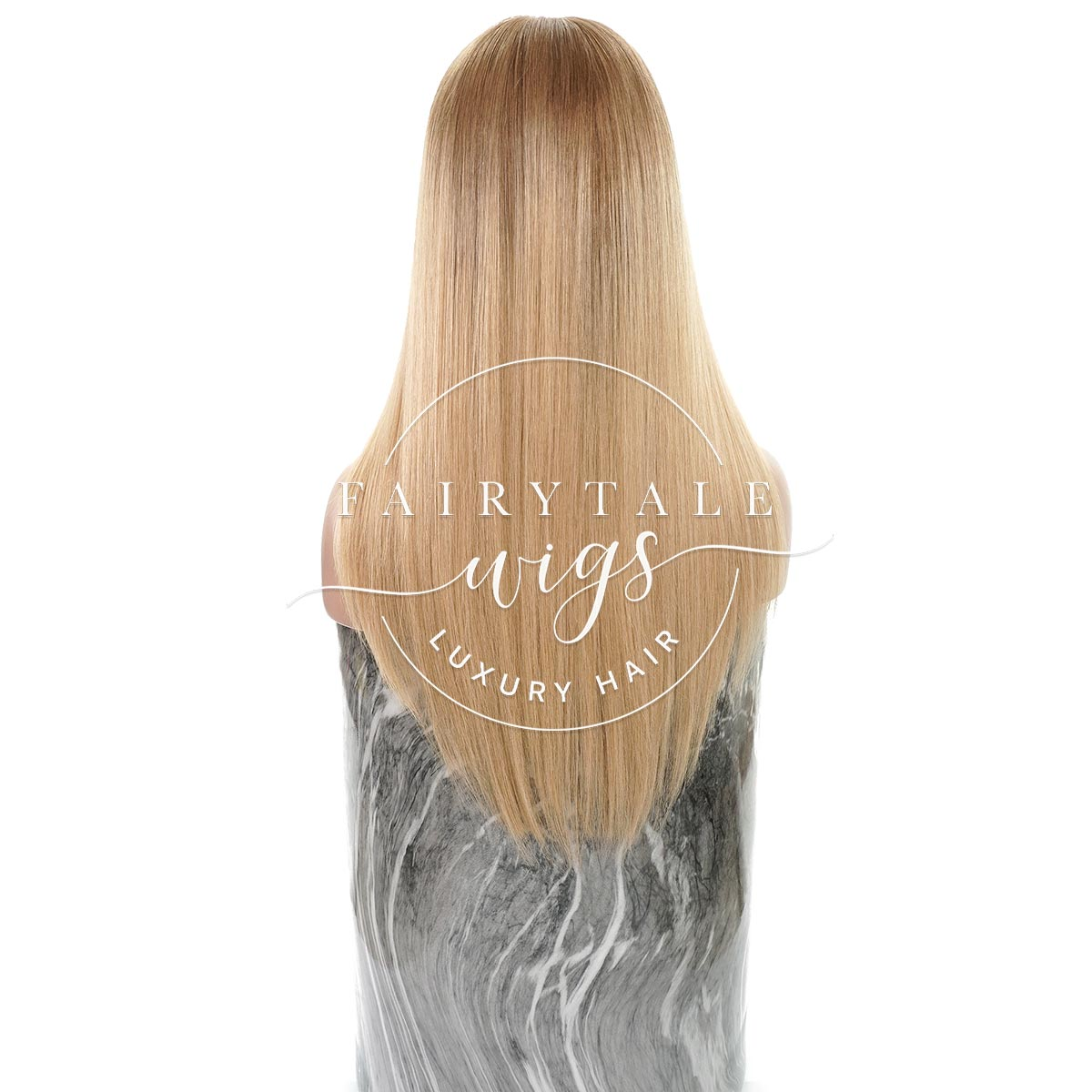 Honey Wheat Ombre - 17 Inches