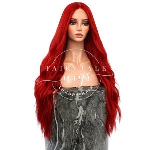 Mermaid Red - 24 Inches