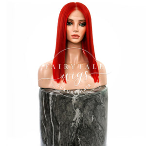 Mermaid Red - 6 Inches - Long Bob