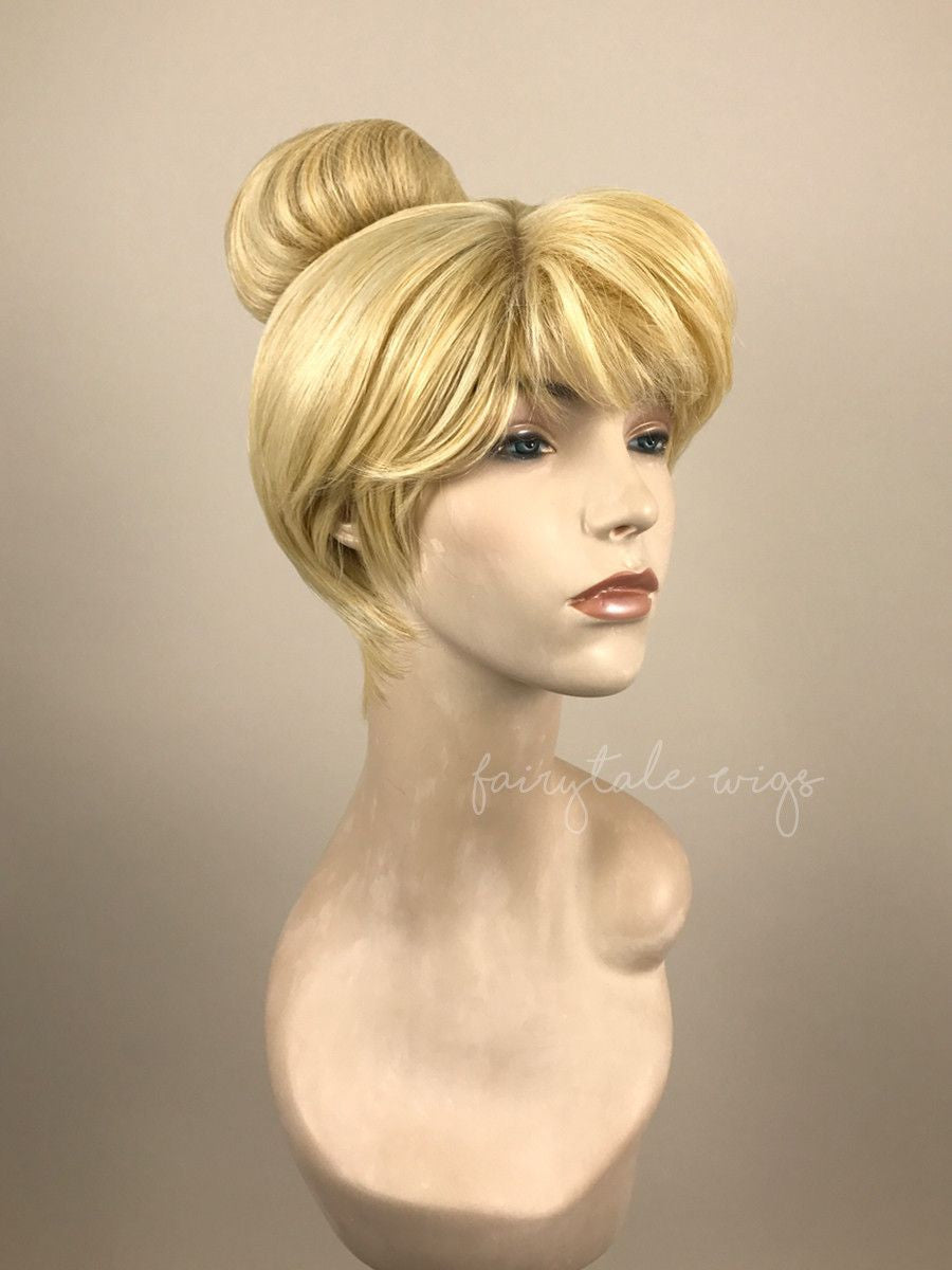 Pixie Wig - Tinker Bell Inspired | Synthetic Non Lace-Fairytale Wigs