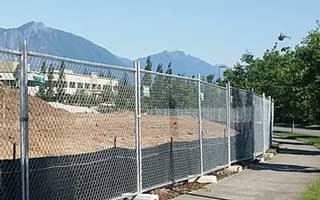 chain link fence rental reservation Emerald City Fence Rentals