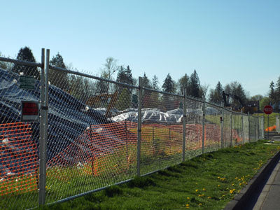 chain link fence rental Emerald City Fence Rentals